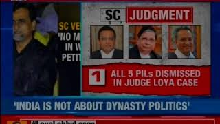 BJP on Loya Death Verdict Congress conspiracy is exposed, Rahul Gandhi should apologise - NEWSXLIVE