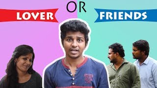 Friday Fun Telugu Comedy Short Film || LOVER or FRIENDS || Avinash Varanasi Srikanth Mandumula - YOUTUBE
