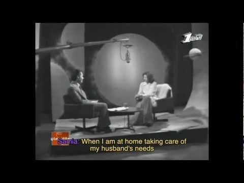 Taheya Karioka and Samia Gamal Interview (1974) with English Subtitles