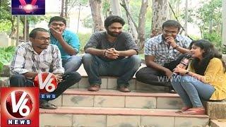 """Chit Chat with """"Muhurtham"""" short film team - V Tube by V6 - V6NEWSTELUGU"""