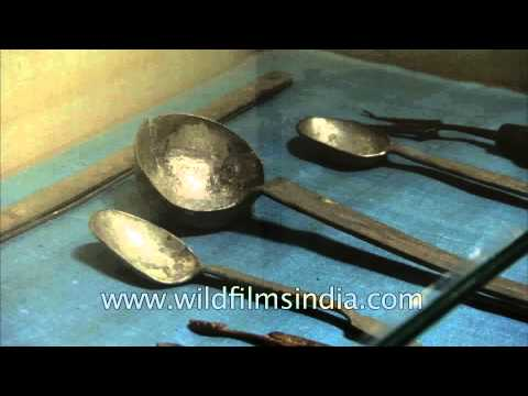 Kitchenware from British period at Kitchen museum of Rashtrapati Bhavan