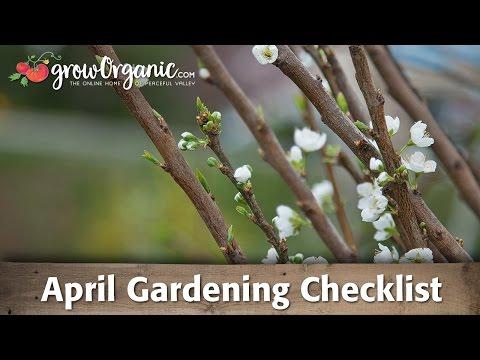 April Gardening Checklist