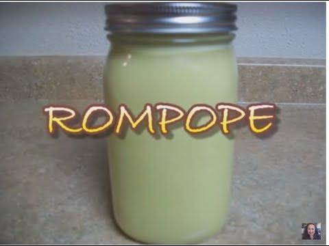 ROMPOPE - DE LAS MONJITAS - receta antigua -  lorenalara144