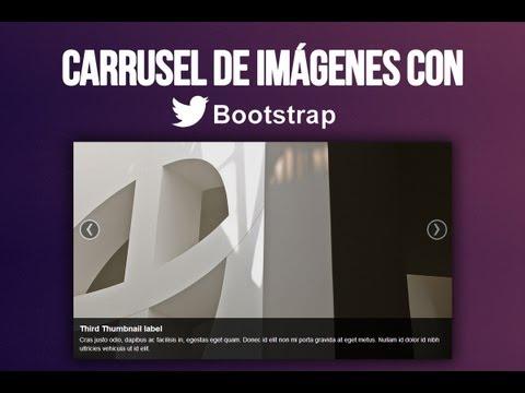 Carrusel De Imágenes [FÁCIL] [BOOTSTRAP] [HD]