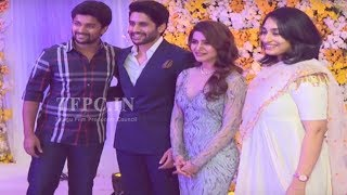 Natural Star Nani @ ChaySam Wedding Reception | TFPC - TFPC