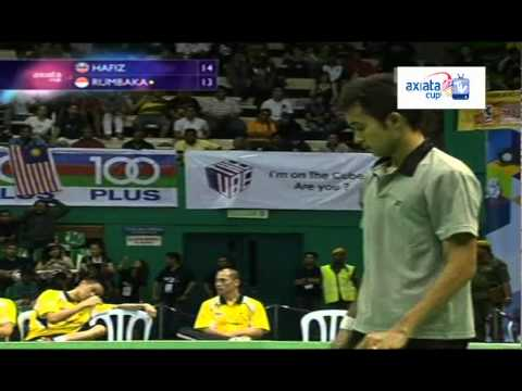 Rumbaka vs Hashim - Day 3 (Group K) - Axiata Cup 2012