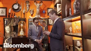 Inside the Weirdest Luxury Shop in NYC - BLOOMBERG