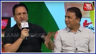 Sunil Gavaskar And Abdul Qadir Recall Their Most Memorable Moments | Salaam Cricket 2018 - AAJTAKTV