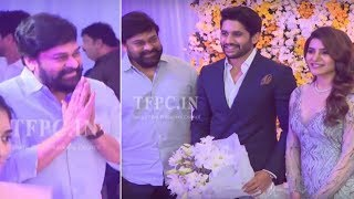 Mega Star Chiranjeevi @ Chaysam Wedding Reception | TFPC - TFPC