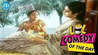 Comedy Of The Day 265    Raadhika Hilarious Scene    Trishulam Movie - IDREAMMOVIES