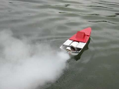 Steam Jet powered experimental boat -Model Boat Mayhem