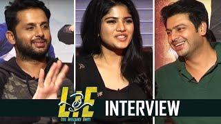 LIE Movie Team Interview   Chit Chat   Nithiin   Megha Akash   TFPC - TFPC
