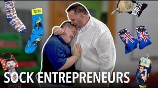 Multi-million dollar sock company inspired by man with Down syndrome - VOAVIDEO