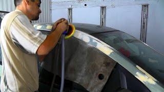 Как исправить вмятины от града на авто