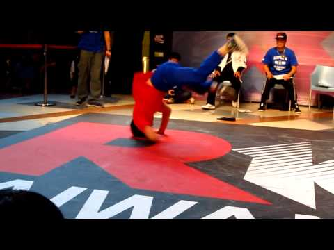 R-16 TAIWAN 2011 Judge BBOY THE END (Gamblerz Crew)