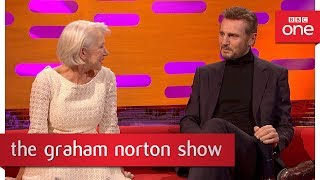 Helen Mirren and Liam Neeson were once an item - The Graham Norton Show - BBC One - BBC