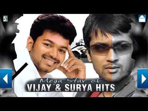 Mega Star Of Vijay and Surya Hits | Super songs Surya and Vijay Juke Box
