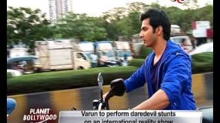 Varun Dhawan to perform LIVE stunts | Bollywood News
