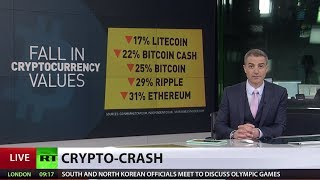 Crypto-bloodbath: Major digital currencies suffer huge losses within hours - RUSSIATODAY