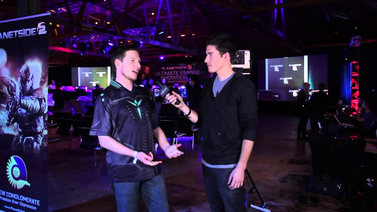 PlanetSide 2 Ultimate Empire Showdown - Level Cap Gaming Pre-Game Interview