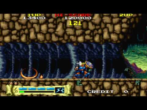 [HD] The Lord of King Stage 1-2 1989 Jaleco Mame Retro Arcade Games