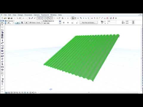 ArchiCAD 16 - Library Enhancements - New and Improved Building Structures