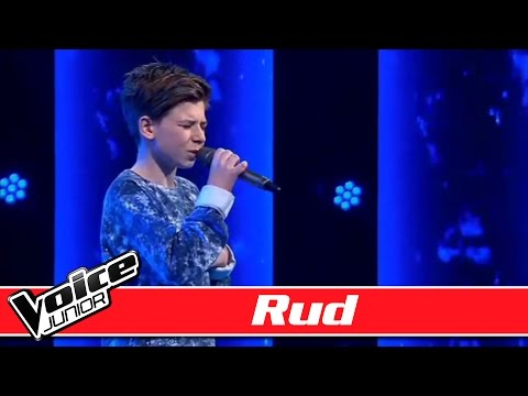 #TeamOhLand: Rud synger: Tue West - 'Vent på mine sange' - Voice Junior Danmark - Program 7