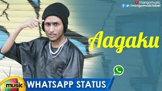 Best Motivational WhatsApp Status | AAGAKU Rap Song | Telugu Rap Songs | Vinil BFAB | Mango Music - MANGOMUSIC