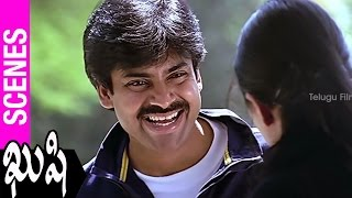 Pawan Kalyan About Love | Kushi Movie | Ali | SJ Surya | Mani Sharma - TELUGUFILMNAGAR