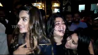 RGV Mass At iSmart Shankar Success Party | Puri Jagannadh | Charmi - TFPC