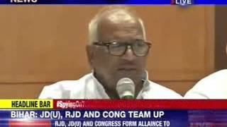 Grand alliance in Bihar - NEWSXLIVE
