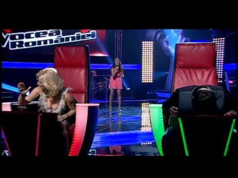 Andreea Olariu - I surrender - Vocea Romaniei - Auditii pe nevazute