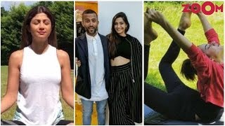Shilpa, Kangana Celebrate World Yoga Day | Sonam & Anand's Pics From Vacation & More - ZOOMDEKHO