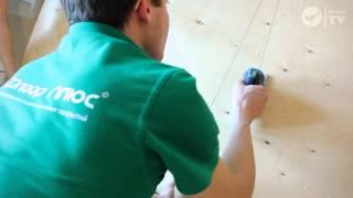 Укладка ламината на деревянный пол. Выравнивание деревянного пола фанерой.