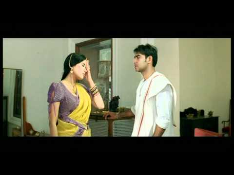 Hindi Film - Tango Charlie - Drama Scene - Ajay Devgan - Nandana Sen - Hawaldar Mistaken For Tailor