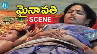 Mynavathi Movie Scenes - Chithralekha Returns To Her Home || Anil || Gundu Hanumantha Rao - IDREAMMOVIES