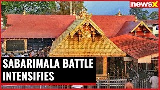 Sabarimala battle intensifies; BJP stages massive protests - NEWSXLIVE