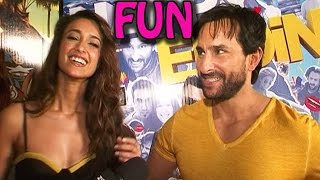 Saif Ali Khan and Ileana Dcruz's FUN MOMENTS with zoOm! | EXCLUSIVE - ZOOMDEKHO