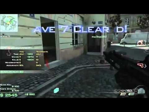 Modern Warfare 3 -   Paris - Survival Mode - MW3 Call of duty Gameplay