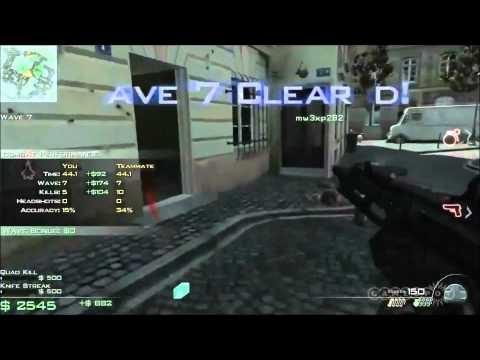 Modern Warfare 3 -   Paris - Survival Mode - MW3 Call of duty Gameplay