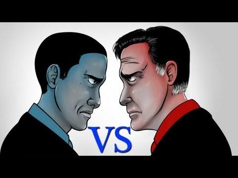 Obama VS Romney PRANK!!