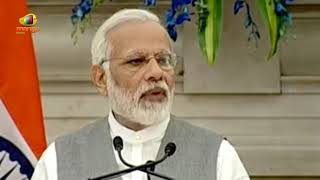 PM Modi with President of European Council at Joint Press Statements  Mango News - MANGONEWS