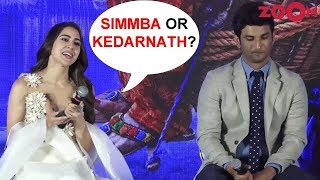 Sara Ali Khan on choosing between 'Simmba' and 'Kedarnath' - ZOOMDEKHO