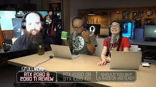 RTX 2080 & 2080 Ti review, RTX 2080 or GTX 1080 Ti? Buy a Radeon instead? | The Full Nerd Ep. 68 - PCWORLDVIDEOS