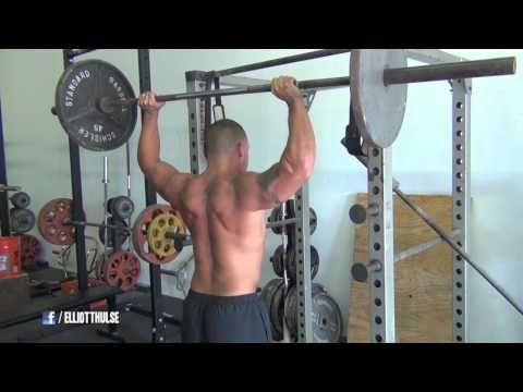 Heavy chest and shoulder workout