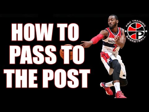 Get More Assists | Passing Into The Post | Pro Training Basketball