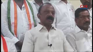AP PCC Chief Raghuveera Reddy fires on BJP Govt over Farmers Kisan Protest | CVR News - CVRNEWSOFFICIAL