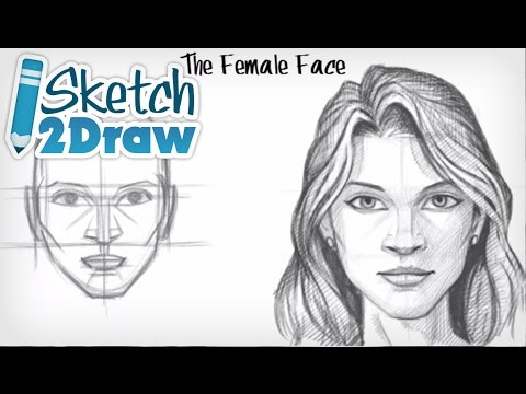 How to Draw the Female Face