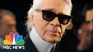 Iconic Fashion Designer Karl Lagerfeld Dies Aged 85 | NBC News - NBCNEWS