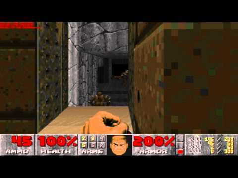 [PC] - Doom II: Hell on Earth - Map 02 - Underhalls